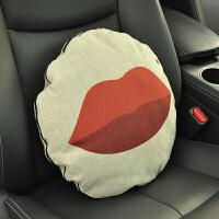 抱枕被子两用车内腰靠车上车载枕头多功能空调被靠垫