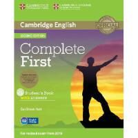 【预订】Complete First Student's Book Pack (Student's Book with