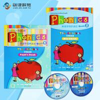 原装进口现货少儿super phonics 1级别英语启蒙自然拼读初级入门英语字母拼写发音自然拼读小学机构发音教材赠送