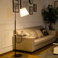 北欧落地灯客厅沙发灯卧室床头灯茶几灯简约美式创意立式落地台灯