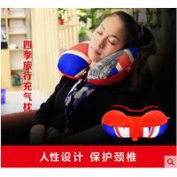 轻便枕头护颈枕u形枕头充气u型枕旅行枕便携吹气枕飞机旅游脖子