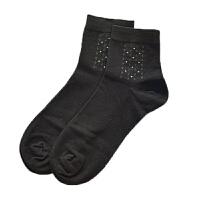 男士中筒男袜秋冬季棉加厚保暖棉袜商务黑白灰纯色吸汗袜子 均码
