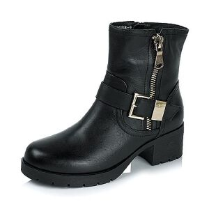 Tata/他她冬季专柜同款小牛皮女靴(绒里)2XZ47RD5