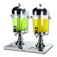 商用不锈钢单缸双缸饮料机自助餐多功能果汁鼎冷饮热饮机果汁机