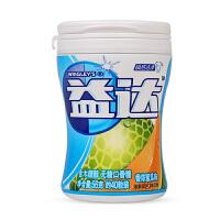益达木糖醇无糖口香糖(香浓蜜瓜味 40粒瓶装 56g)新老包装随机发货