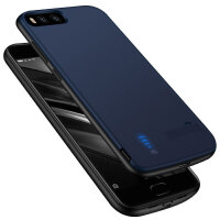 小米6背夹电池手机壳充电宝无线充电器小米轻薄无下巴8000毫安大容量移动电源mi6