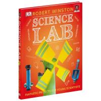 大课题 科学实验室 英文原版 Science Lab DK STEM 科学实验 少儿科普 知识百科 英文版原版书籍 精