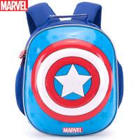 幼儿园迪士尼书包男童美国队长小孩3-5岁学前班儿童宝宝双肩背包