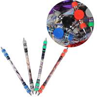 包邮智高转转笔V20新品转战风云旋转陀螺式转笔ZG-5182耐摔比赛专用笔