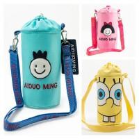 保温杯套儿童水壶包男女童斜跨水杯袋吸管杯杯套宝宝奶瓶