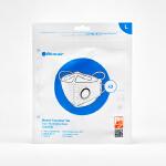 瑞典布鲁雅尔(Blueair)防尘透气口罩防雾霾PM2.5口罩 【3只装】L码-适合男性