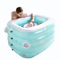 婴儿游泳池充气加厚新生儿泳池家用小孩室内戏水池宝宝泳池 抖音