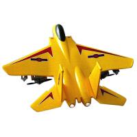 超大无人战斗机遥控飞机直升模型固定翼摇控滑翔电动航模玩具 抖音 幻影银(2018加强版 带夜航灯) 【一代2.4G】双