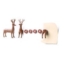 创意云朵磁铁冰箱贴卡通可爱留言板立体吸铁石装饰磁贴 小