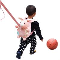 双肩包女童1-3岁带牵引绳 可爱儿童背包幼儿园宝宝书包