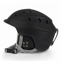 2017男女通用一体成型滑雪头盔 保暖透气头盔护具装备