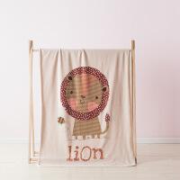 婴童毛毯夏季空调盖毯新生婴儿抱毯幼儿园午睡儿童法兰绒童毯礼盒