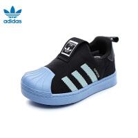 【到手价:289元】阿迪达斯Adidas童鞋18新款三叶草经典贝壳头婴幼童学步鞋男童宝宝鞋儿童运动鞋 (0-4岁可选)