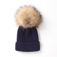 宝宝帽子秋冬季0-3个月男女儿童围脖款毛线帽1-4岁婴儿帽子潮6-12 0-3岁