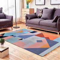 现代北欧风格几何图案地毯客厅茶几沙发卧室床边样板房地毯可定制 如图花色-65