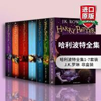 哈利波特全集英文原版书籍Harry Potter 1-7册全套 哈利波特与魔法石英国版小说 JK罗琳正版进口英语原著书