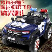 好加新款儿童电动车带遥控可坐越野童车双开车门四轮玩具双驱汽车
