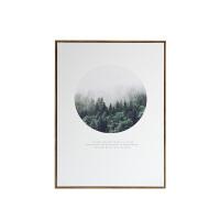 北欧极简有框装饰画 现代简约客厅书房风景画 样板间软装墙面装饰 60*80