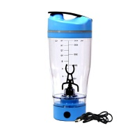 蛋白粉摇摇杯健身水杯运动摇杯电动自动搅拌杯奶昔杯带刻度