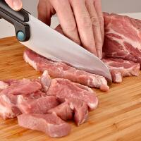 德国WMF福腾宝 Hello Functional创意刀具 肉类果蔬通用厨刀 可站刀鞘