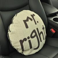 汽车用品卡通抱枕被子两用车内腰靠车上车载枕头多功能空调被靠垫