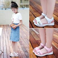 女童凉鞋夏季儿童凉鞋小女孩真皮软底中大童公主鞋潮