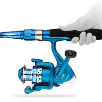 路亚竿渔具钓鱼竿2.1 2.4米直柄路亚竿纺车轮渔具鱼竿套装