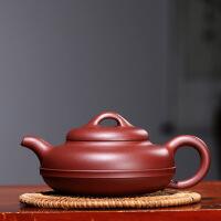 宜兴紫砂壶手工泡茶壶茶具套装家用非陶瓷线圆壶 线圆壶