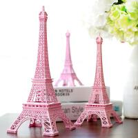 巴黎埃菲尔铁塔模型客厅酒柜房间装饰品摆件创意家居饰品生日礼物