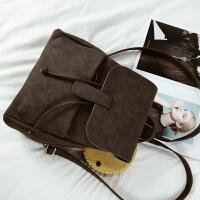 韩国新款女包撞色双肩包女学院风大容量休闲旅行背包百搭学生书包