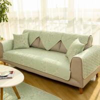???北欧沙发垫布艺防滑坐垫四季通用全棉简约现代纯棉沙发套组合套装