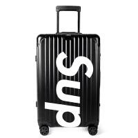 行李箱女网红拉杆箱潮牌箱子旅行箱个性ins登机箱 20寸【登机箱 适合1-5日短途出差】