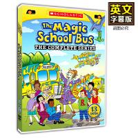 神奇校车The Magic School Bus 52集英语字幕 儿童英文动画片DVD
