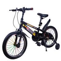 【当当自营】儿童自行车男女表演车 山地车学生车好孩子的礼物 金刚14寸雅黑