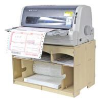 快递面单打印架 单据/票据/快递单打印机架 木质桌面收纳盒