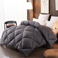 被子加厚保暖冬被芯冬季10斤学生宿舍单人铺盖铺床棉被褥春秋冬天 220x240cm 加厚8斤