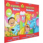 【3-6岁学前练习2册】School Zone Preschool /Kindergarten Scholar 学前早