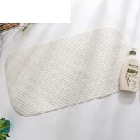 儿童浴盆防滑脚垫子地垫浴室防滑垫淋浴洗澡厕所卫生间浴缸地垫 乳白色 小方格TPE材质 38CM×70CM环保