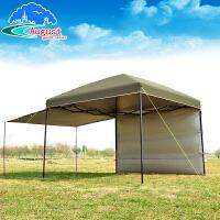 户外凉棚自动四角遮阳棚露营自驾游天幕帐篷