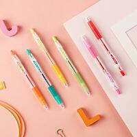 日本PILOT百乐 JUICE果汁笔 百果乐彩色中性笔 0.5MM按动笔 手帐学生用文具 36色�ㄠ�笔