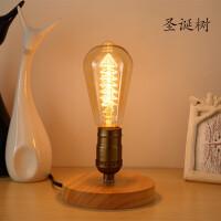【限时7折】loft爱迪生工业复古风个性水管灯 咖啡厅装饰创意台灯