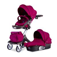 20180826092727493高景观婴儿推车避震四轮儿童推车可折叠可躺可睡手推车