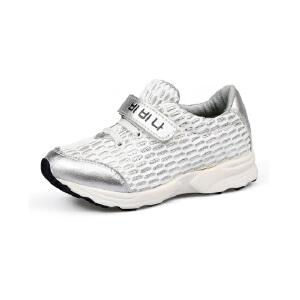 比比我童鞋网布儿童运动鞋2017春秋新款透气大童男童休闲鞋韩版百搭