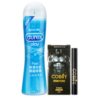 [当当自营]Durex杜蕾斯润滑油润滑剂人体润滑液快感装50ml 赠可比例男用喷剂3ml