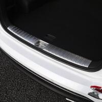 专用于16款现代全新途胜后护板汽车后备箱踏板尾门保护板专车改装